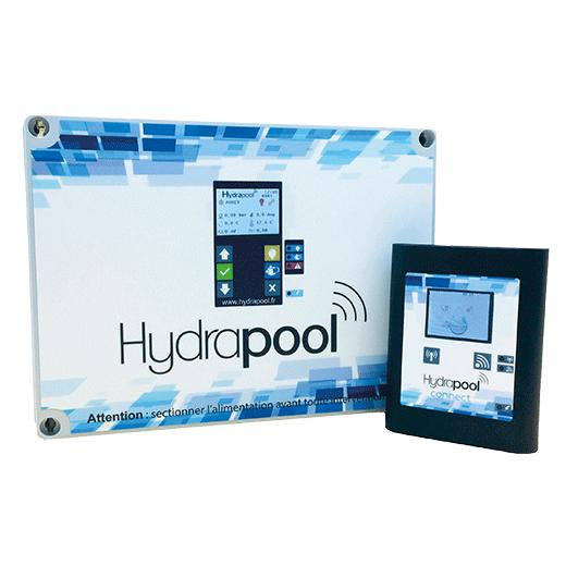 coffret hydrapool et boitier hydrapool connect